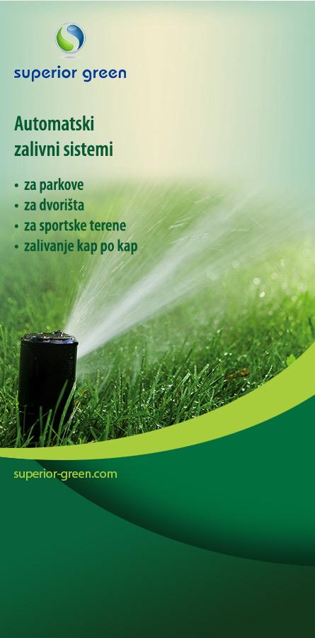 Superior Green - automatski zalivni sistemi