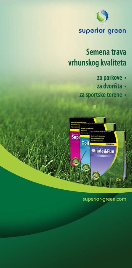 Superior Green - semena trava vrhunskog kvaliteta