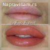 Trajna šminka -Permanent make up usana