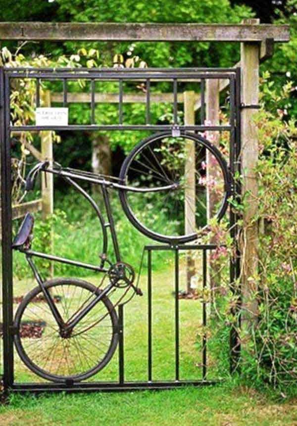 kreativna vrata za vrt 1