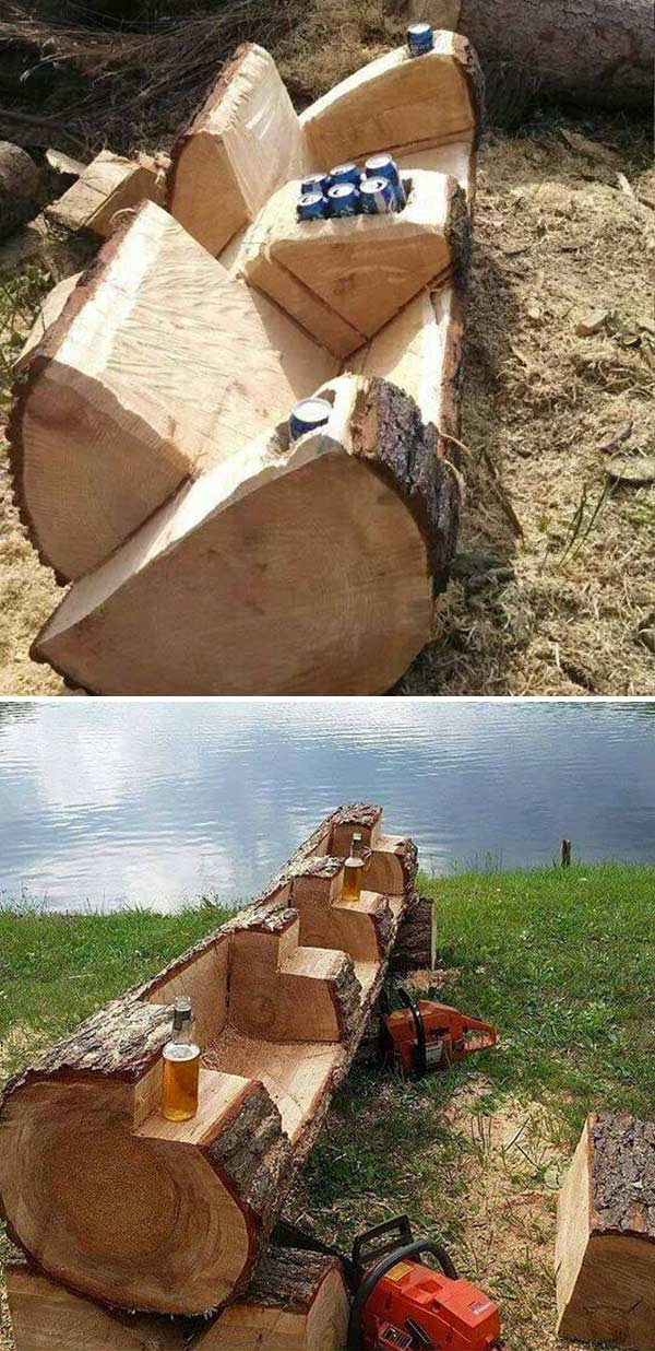 dvosed od stabla drveta 15