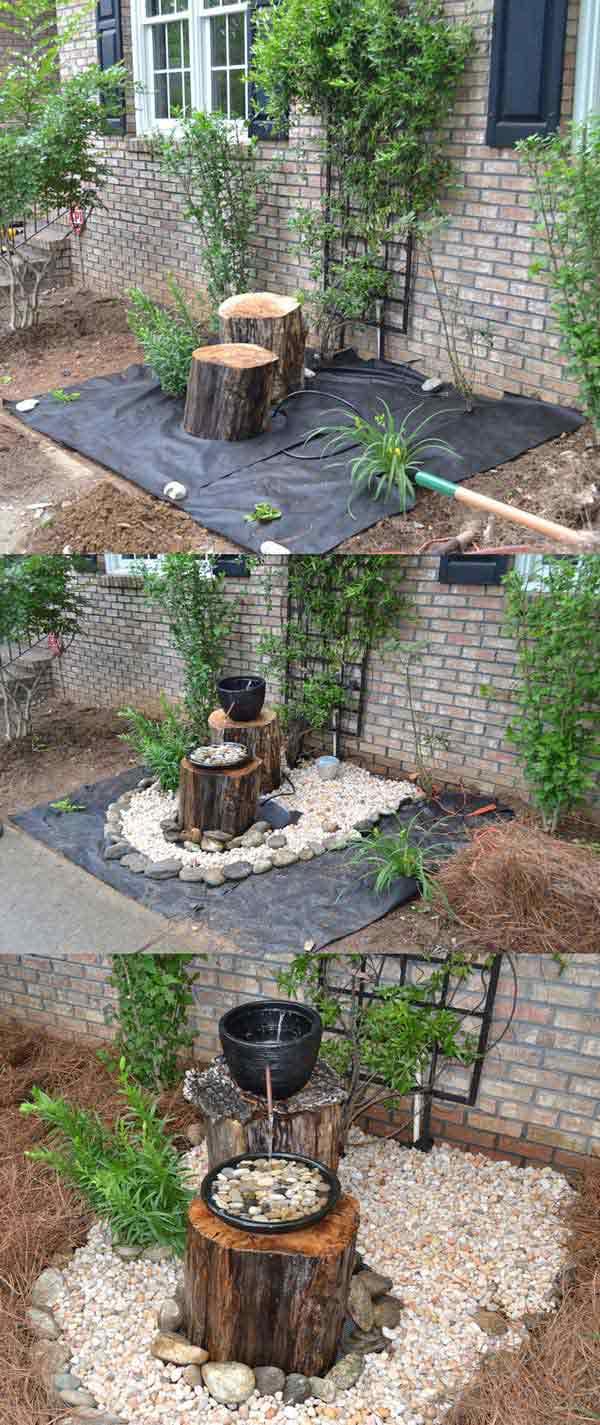 fontana od panjeva drveta 19