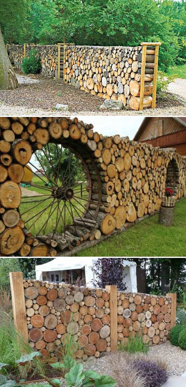 ograda od oblica drveta 8