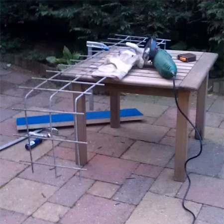 Napravi sam - Napravite betonsku klupu za vrt ili dvorište