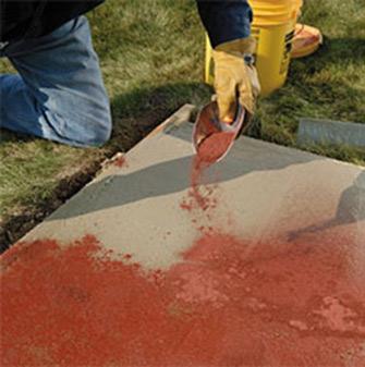 Farbe beton effekt
