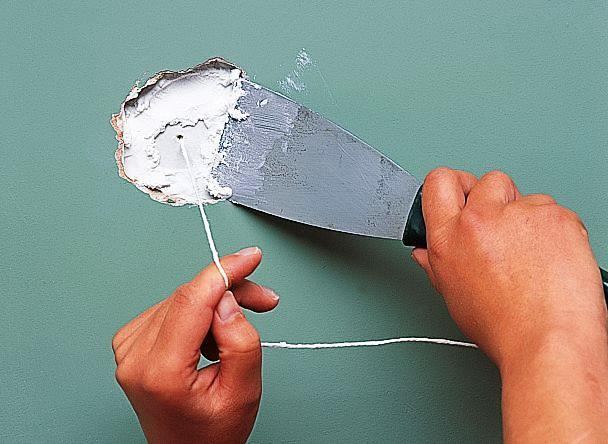popravka rupa u gipsanom zidu