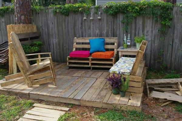Napravi sam - 20 ideja kako da iskoristite stare drvene palete za nameštaj u ...