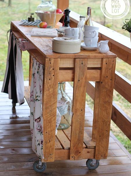 Napravi sam - Ideje za izradu šank-bara za dvorište ili terasu