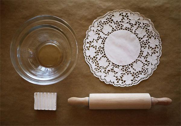materijal za tacnu od gline